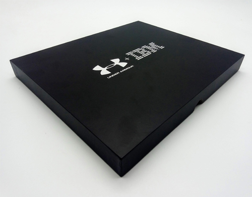 black presentation case for video brochure