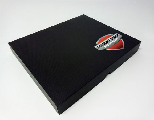 hardcover video brochure presentation box