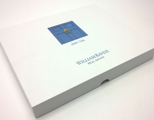 hardcover presentation box