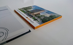 comparison of hardcover and softcover video brochures